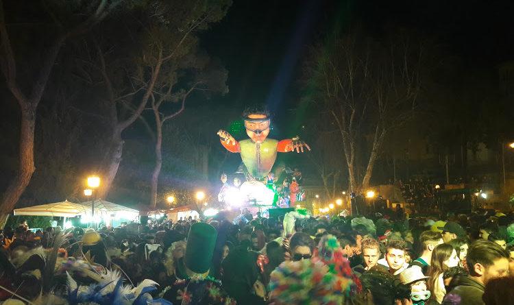 Pontecorvo – Un mare di gente alla 65esima edizione del Carnevale. Vince Oceania di Gelfusa-Granieri
