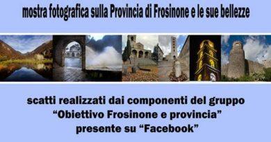 """Frosinone – mostra fotografica """"Obiettivo Frosinone e provincia"""""""