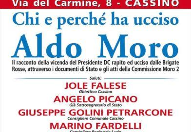 """Cassino – """"Chi e perché ha ucciso Aldo Moro"""": dibattito alla Biblioteca comunale"""