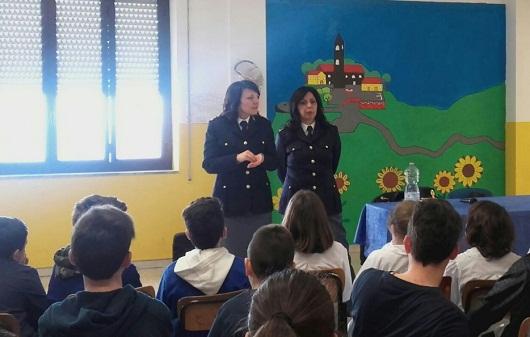 San Giovanni Incarico – Bullismo e cyberbullismo: la Polizia impegnata nel progetto – scuola