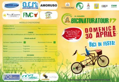 Pontecorvo – Bici Natura Tour: domenica l'11esima edizione da Piazzale Europa a San Cosma