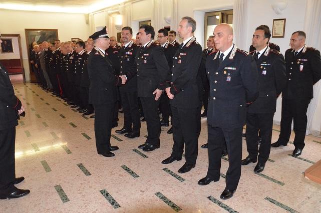 Frosinone – Il Generale di Divisione dei Carabinieri Angelo AGOVINO, ha fatto visita al Comando Provinciale di Frosinone