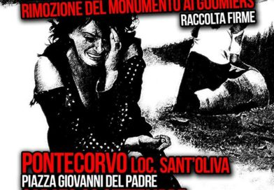 Pontecorvo- Stele alle Truppe Marocchine: petizione per la rimozione