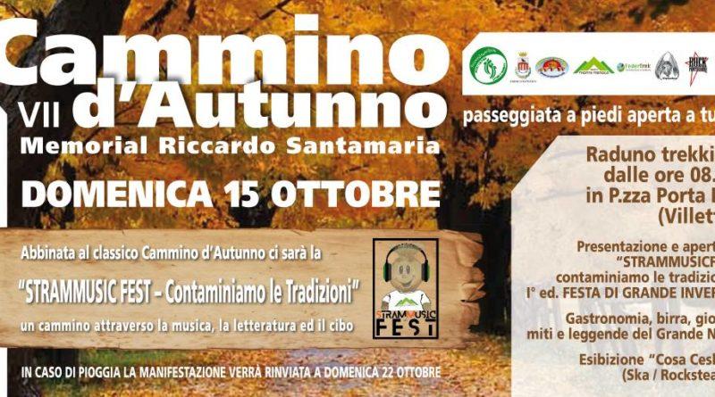 Pontecorvo – Cammino d'Autunno: domenica il Settimo Memorial Riccardo Santamaria