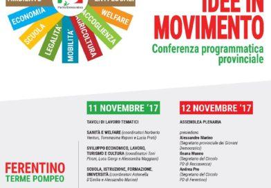 Frosinone – Il Pd chiama a raccolta per la conferenza programmatica provinciale: arriva Zingaretti