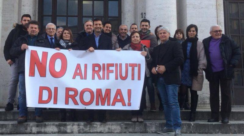 """Cassino/Pontecorvo/Roccasecca – I sindaci e il """"No"""" ai rifiuti di Roma all'Impianto Saf di Colfelice"""
