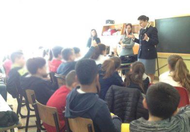Cassino – Lezione di legalità all'Istituto Giovanni Paolo XXIII