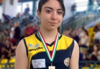 Pontecorvo – Volley: Melissa Conte vola alle finali nazionali Under 16