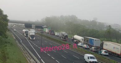 Flash/Castrocielo – Incidente in A1: traffico bloccato soccorsi in atto