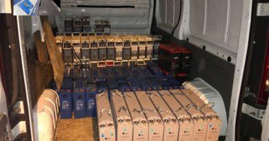 Ceprano – Furto di batteria per ponti radio: una denuncia della polizia