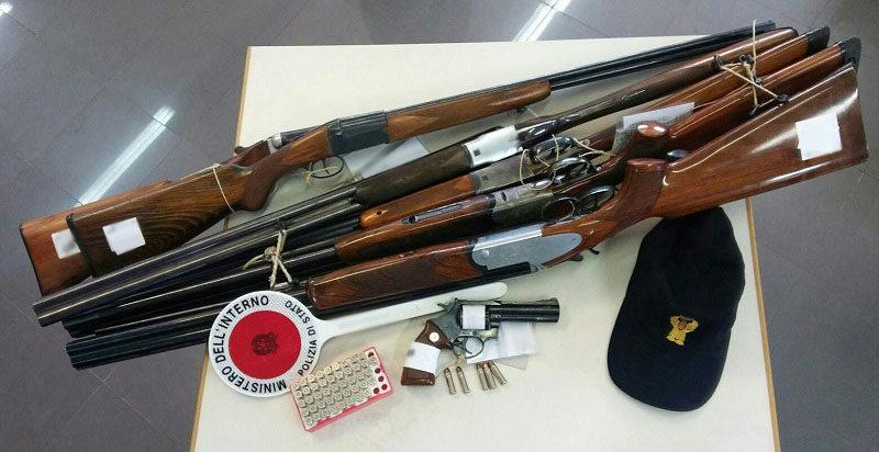 Frosinone – Controllo armi: avviata la procedura per la distruzione