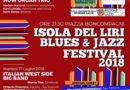 Isola Liri – Al via oggi il Liri Blues & Jazz Festival