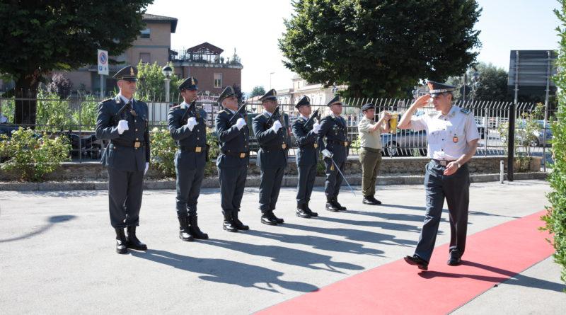 Guardia di Finanza/ II comandante Regionale, il generale Bruno Buratti in visita alla Tenenza di Sora