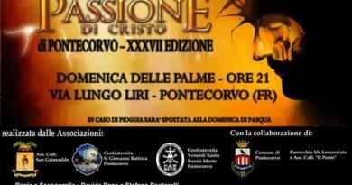 Pontecorvo – Passione Vivente 2019: stasera la riunione