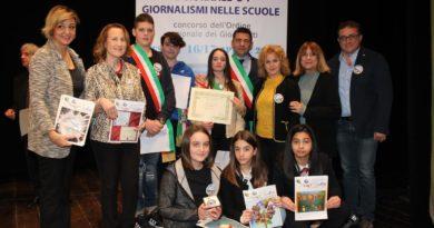 Pontecorvo/San Giovanni Incarico – L'aquilone premiato dal Consiglio Nazionale dell'Ordine dei Giornalisti