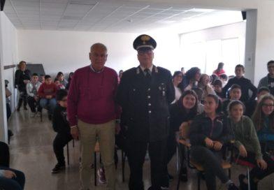 San Giorgio a Liri – Legalità e prevenzione: il maresciallo De Angelis sale in cattedra