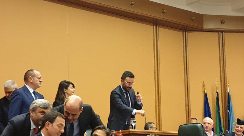 Regione Lazio, Mauro Buschini eletto presidente del consiglio regionale