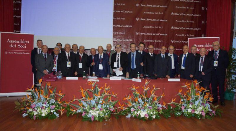Cassino – Assemblea soci BpC: una banca che cresce