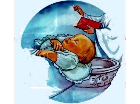 Il battesimo di antonio gli auguri speciali del padrino for Di tommaso arredamenti ostia