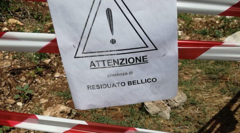 Pontecorvo – Ordigno bellico in via La Torre a S.Oliva: il momento dell'esplosione (Video)