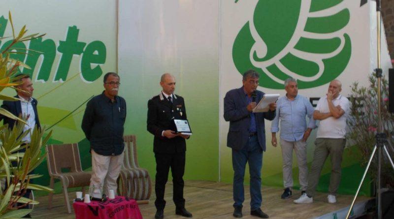 """Frosinone – Il premio nazionale """"Ambiente e Legalità"""" al Nipaf del Gruppo Carabinieri Forestali"""