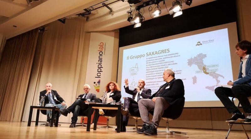 """Economia/Roccasecca –  ll sampietrino """"della legalità"""" e l'economia circolare conquistano il pubblico Toscano"""