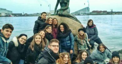 Pontecorvo – Alternanza Scuola – Lavoro, 15 studenti dell'Istituto Superiore (Linguistico-Scientifico) sono stati a Copenaghen