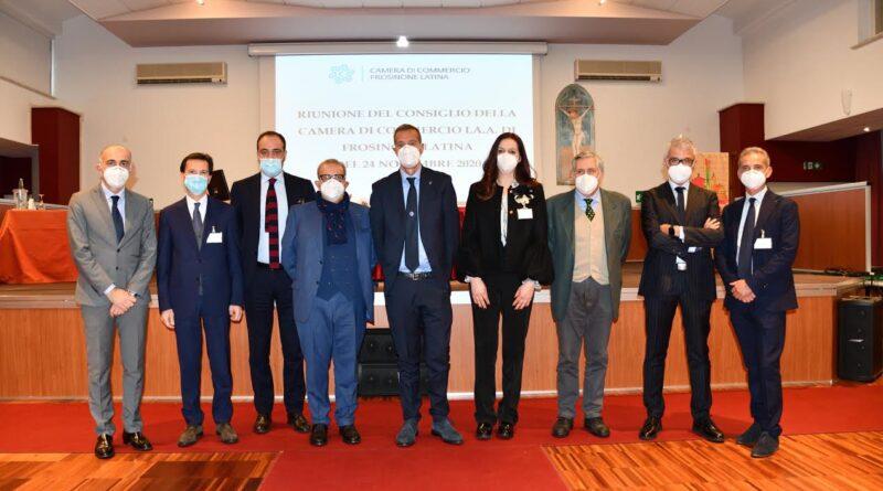 Eletta la Giunta della Camera di Commercio Frosinone Latina