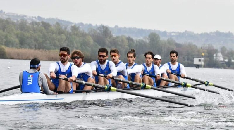 La Marina Militare ha conquistato un oro, un argento ed un bronzo ai campionati europei assoluti di canottaggio a Varese-Schiranna