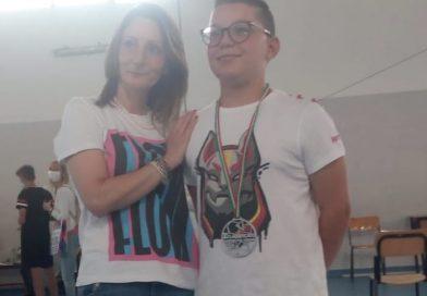 Ic1- Protagonista alle Olimpiade del Disegno Tecnico: Medaglia d'argento a Davide Giannichedda